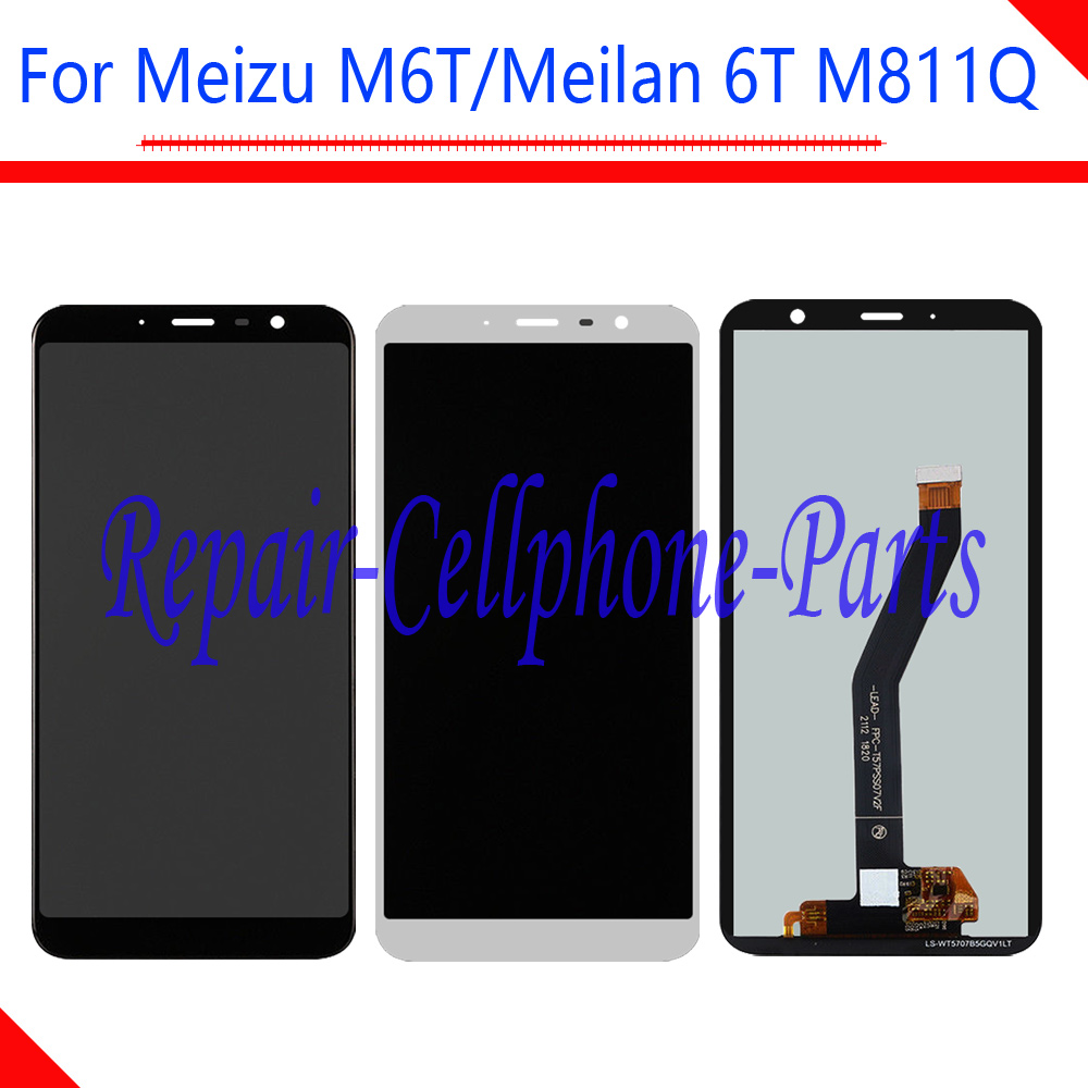 5.7 inch Test 100% New Black / White For Meilan 6T M811Q Full LCD DIsplay + Touch Screen Digitizer Assembly For Mei zu M6T5.7 inch Test 100% New Black / White For Meilan 6T M811Q Full LCD DIsplay + Touch Screen Digitizer Assembly For Mei zu M6T