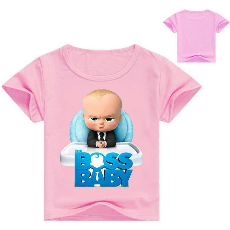 ddd0d951fc The Boss Baby Cartoon Boys Shorts T Shirt New Summer Children Kids Tops  Tees T-