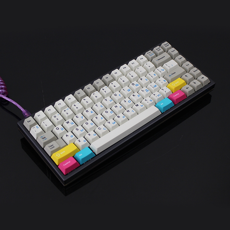 In  Stock Dhl Fedex R6/ KBDfans75 CUSTOM KEYBOARD KIT Mechanical Keyboard Diy Kit  Kbd75