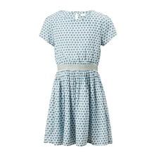 купить Little Maven New Summer Lovely Kids Short Blue Printed Waistband Lady O-neck Knitted Cotton Big Girls 4-10yrs Casual Dresses дешево