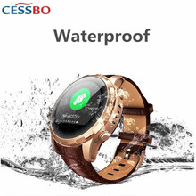 CESSBO PT68 Oledrly GPS SOS Smart Watch Phone Blood Pressure Heart Rate Remind Two Talk Smartwatche for Parent Gift Touch Screen