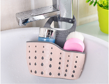 3 Colors Useful Suction Cup Sink Shelf Soap Sponge Drain Rack Kitchen Sucker Storage Tool