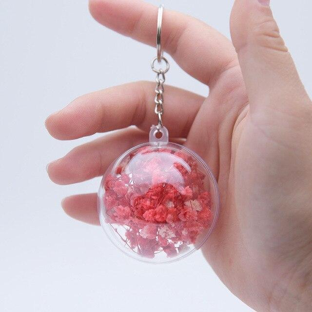 2018 novo charme da moda couro flor rosa da corrente chave bonito saco flor borla mulheres cadeia chave chaveiro feminino jóias pingente