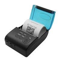 Mini pos impressora de recibos térmica portátil 58mm HS-590A android bluetooth máquina de impressão térmica direta para escritório móvel