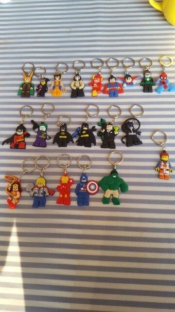 1PCS Star Wars PVC Cartoon Key Chain Mini Anime Figure Key Ring Kids Toy Pendant Keychain Key Holder Fashion Charms Trinkets 4