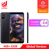 Turkey 3~7 Work Days Global Version Xiaomi Mi A2 4GB Ram 32GB Rom 5.99 Full Screen Snapdragon 660 Dual Camera Android One Phone