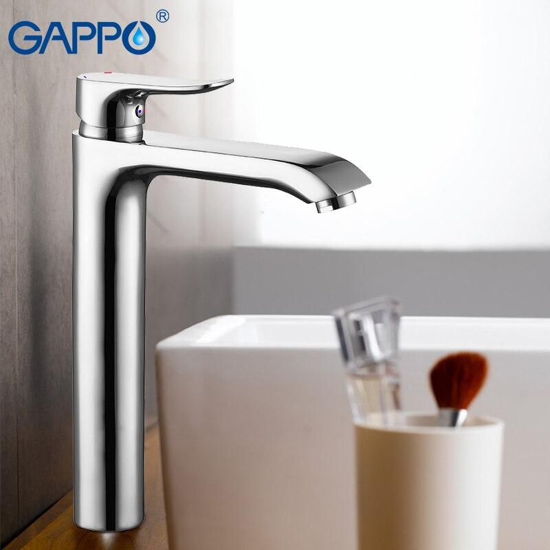 GAPPO Basin Faucets bathroom mixer tap water mixer tall basin faucet sink faucet water taps bathroom torneira