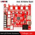 Anet A1284-Base V1.7 12v Плата управления материнская плата для Anet A8 A6 DIY самостоятельная сборка 3D принтер i3 настольный принтер комплект