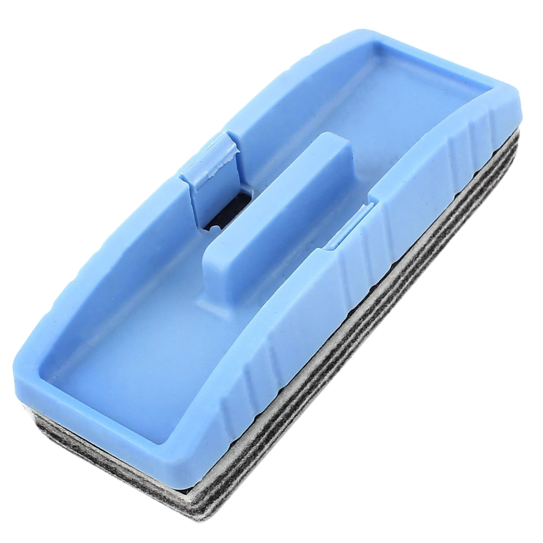 HOT GCZW-Rectangle Magnetic Dry Wipe Erase Whiteboard Eraser Cleaner Blue Gray