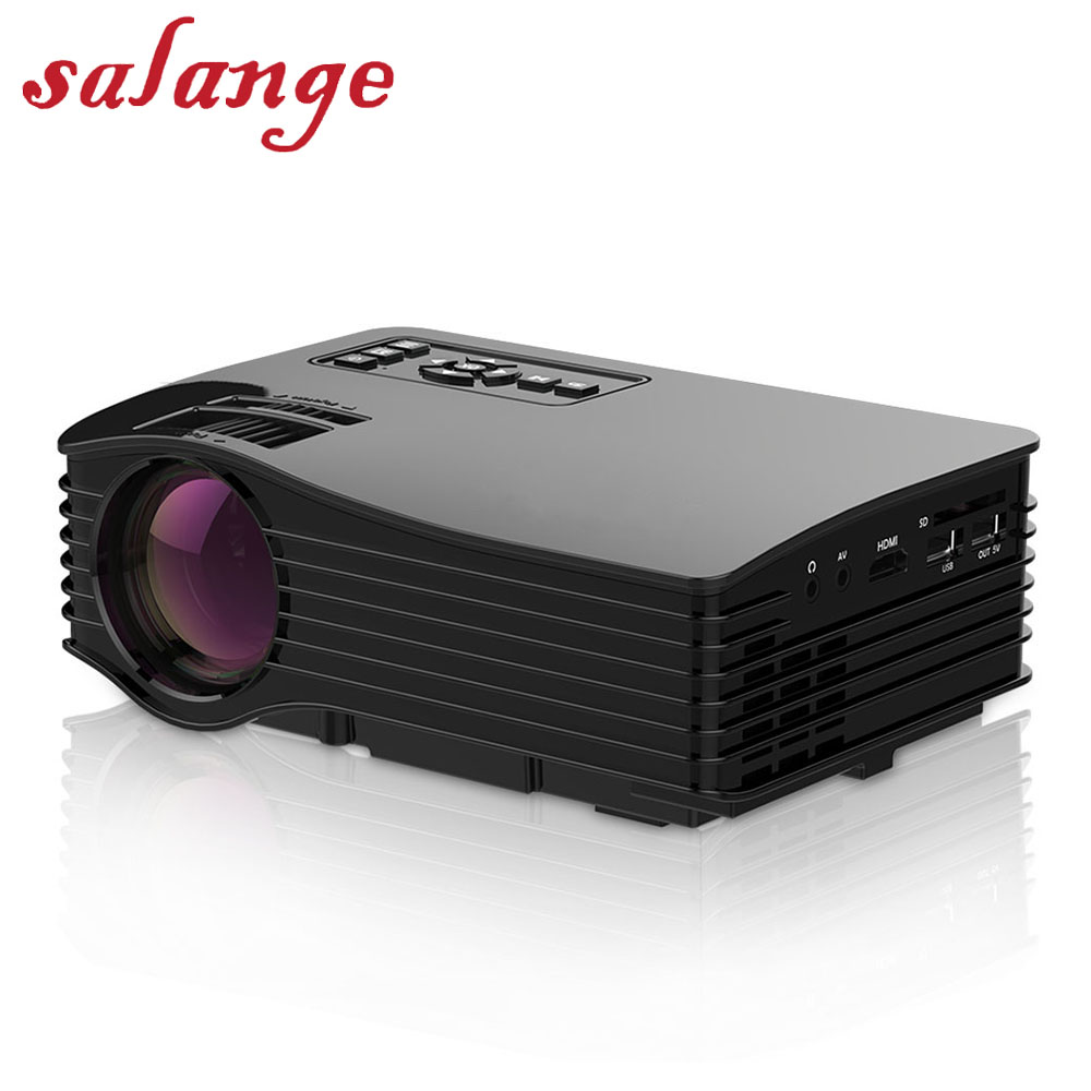 UC36 Mini LCD Projector Full Color Smart LED Proyector WIFI Home Theater HDMI AV SD USB Micro USB Beamer black us pug uc28 mini pico projector home cinema theater digital led lcd projector vga usb sd av hdmi multimedia proyector