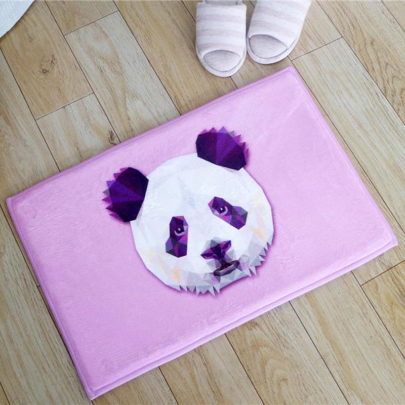 c59628a7c2ec 1pc Cartoon Floor Mats Animal Flannel Anti-slip Carpet Living Room Hallway  Puzzle Carpets Doormat Mat Decoration Accessories A35 - us320