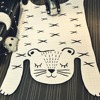 Tiger Mat Door Mat Doormat Tapete Cartoon Simple Fashionable Carpet Kids Room Alfombra Infantil Tapete Infantil