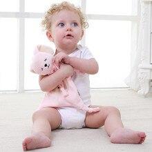 Baby Comfort Towel Plush Pet Animal Doll Soft Soothe Multi-Function Saliva fortniter Stuff Toy Rabbit