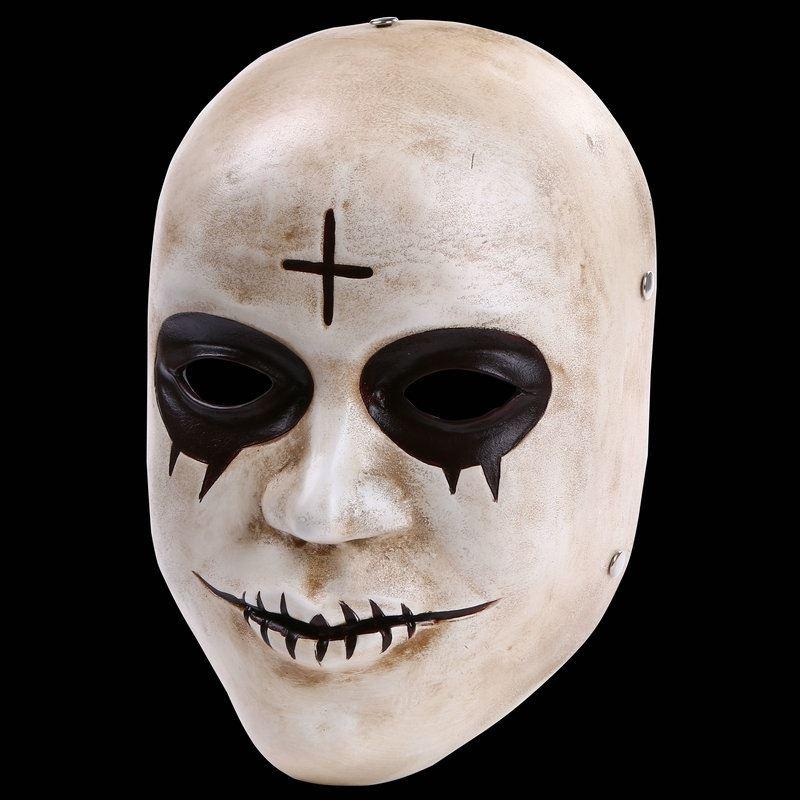 purge mask the purge anarchy style mascaras halloween masks scary mask smile god cross fancy