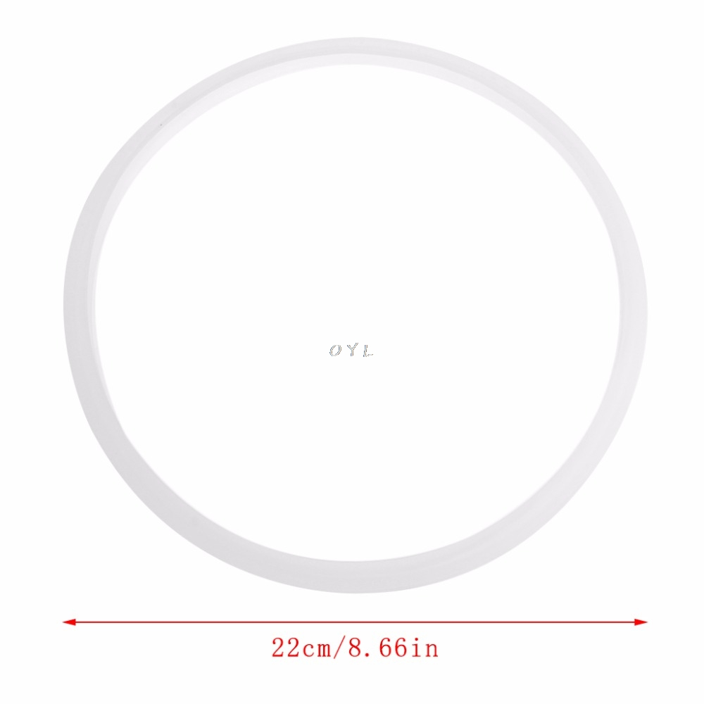 Gasket Replacement For Pressure Cookers Silicone Rubber Gasket Sealing Seal Ring Kitchen Cooking Tool 22cm/8.66