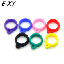E-XY New product ego silicone Lanyard Ring necklace ring For CE4 CE6 T2 T3 T3S EVOD Atomizer Silicone Ring Fit eGo evod-twist