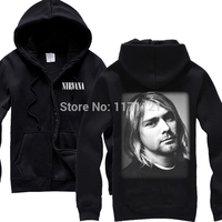 Kurt Cobain Rock Band Vintage Singlets Black New 100 Cotton Hoodie