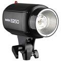 Hot speedlite flash Godox E250 Pro Photography Studio Strobe Light Photo Flash Estudio Flash de 250 W 220 V