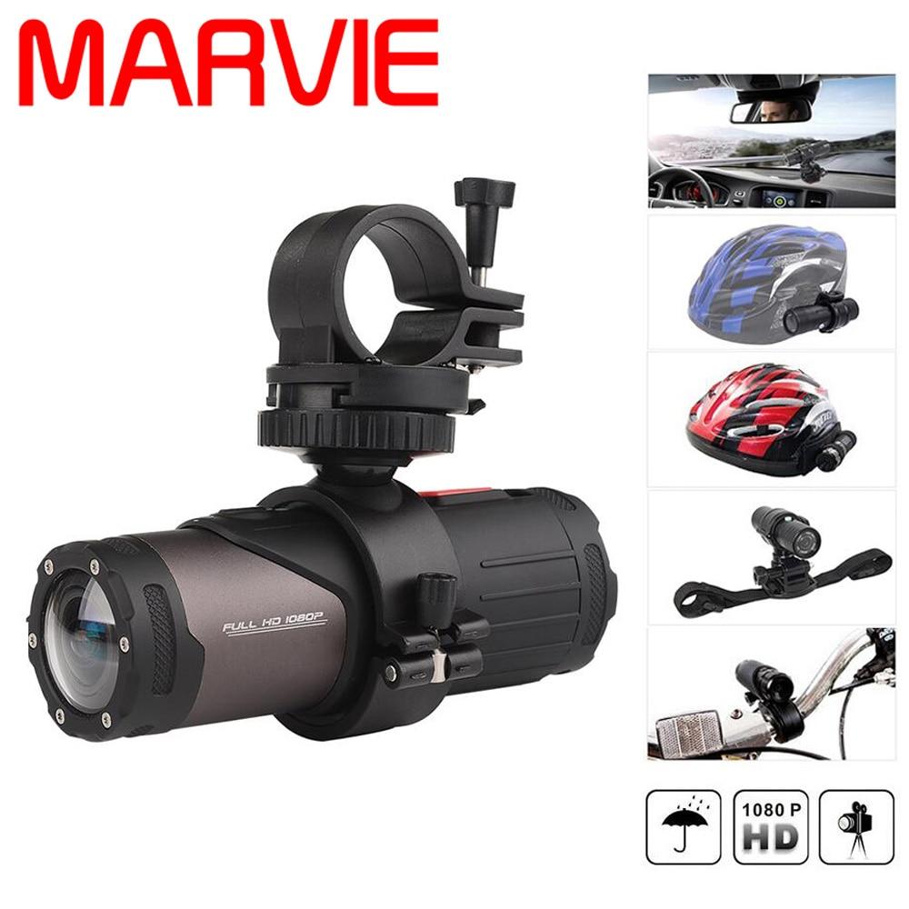 Marvie Original HDV-20 Wifi Sports Action Video Camera Waterproof 10M 1080P Full HD Cycling Helmet Mini Outdoor Sports Camera DV
