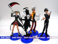 4pcs/LOT PVC 13-14CM Soul.Eater action figure Japanese anime figure kids toys doll for collection