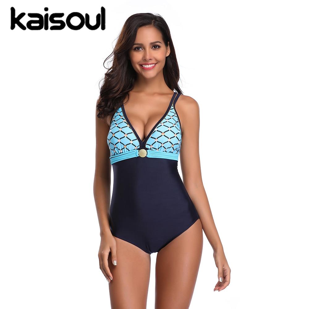 One Piece Grommet Swimsuit Tankini Women Swimming Mermaid Beachwear Blue Sexy Bikini Swimwear New Arrival PushUp Padded Backless in Body Suits from Sports Entertainment