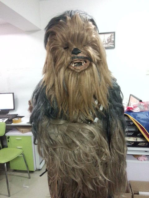 Star Wars Costumes  7 Series Cosplay Chewbacca Halloween Suit Costume 3