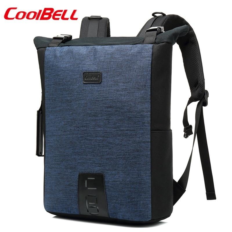 À Backpack15 Nouveau Pour 6inch Ordinateur L'eau Coolbell grey Usb Cartable Black blue En Nylon Sac Imperméable Dos Portable dq4Xw50