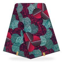 Hot Selling Mitex African Fabric  Wax Guaranteed Dutch Wax, Real 6yards YBGHL-105