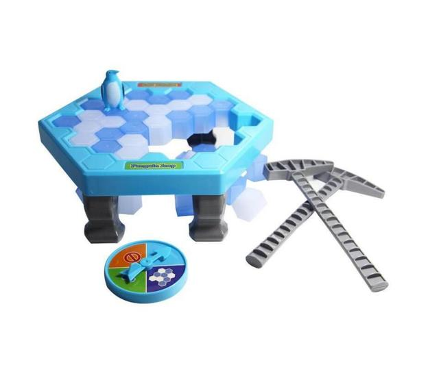 MINI Ice Breaking Save The Penguin Family Fun Game Penguin Trap Activate Funny Table Game Interactive Entertainment Toy