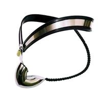 Stainless Steel Male Chastity Belt Model,Adjustable Waist Belt Chastity Device Sex Toys For Men Penis Restraint Chastity Lock