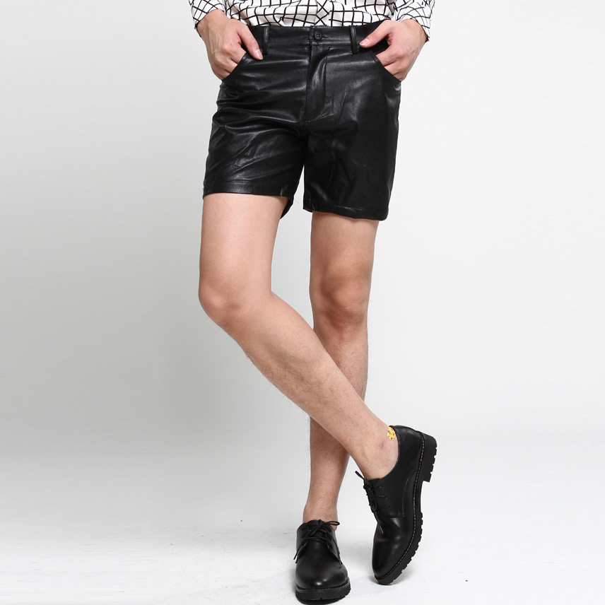 Popular Men's Leather Shorts-Buy Cheap Men's Leather ...