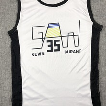 0a01966f9 SYNSLOVEN Men Basketball Jersey top Uniforms golden state no.35 kevin durant  Sports clothing mesh