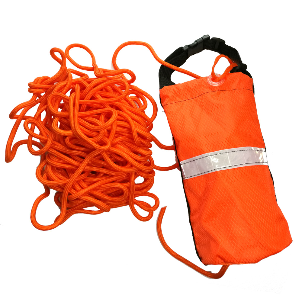 20 30M Canoe Kayak Buoyant Throw Rope Floating Rescue Line Reflective Safety Bag For Fishing Boat Dinghy Yatch Raftiing Sailing