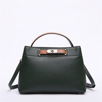 Vintage Style Luxury Brand Designer Women Totes Genuine Leather Women Handbag Fashion Crossbody Bag for Lady Bolsa Female