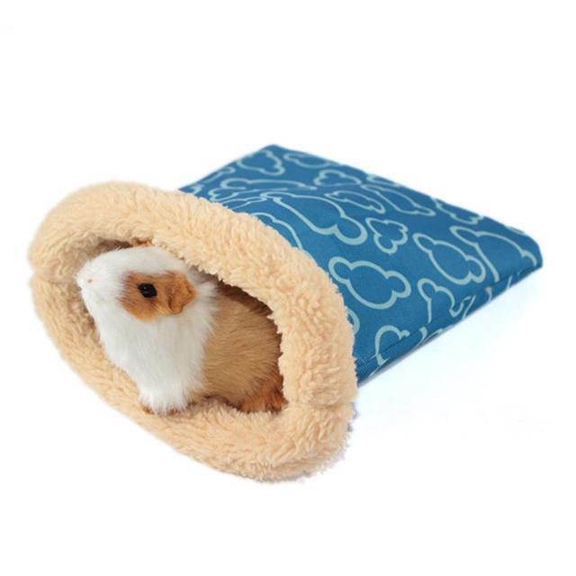 Waterproof And Windproof Small Pet Nest Hedgehog Squirrel Hamster Bed Wolf Guinea Pig Sleeping Bag Comfortable Bag