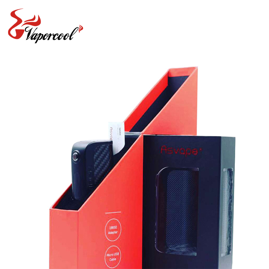 100% Original Asvape Strider 75W Box Mod TC Vaporizer Mod American VO75 chip support BYPASS/Power/VPC/TC Modes from Vaporcool
