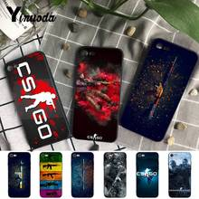 Yinuoda cs go gun game Luxury Coque Shell Phone Case for iPhone X  8 7 6 6S Plus 5 5S SE XR XS XSMAX11 11pro 11promax