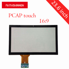 23.6 inch 16:9 factory direct supply projected capacitive touch panel capacitive touch screen overlay kit 1pcs lot free shipping 8 inch capacitive touch screen external screen ad c 800916 fpc
