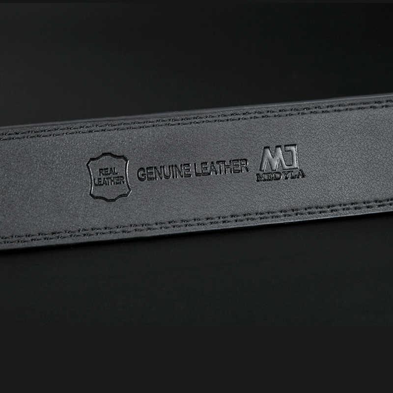 Medyla Designer Luxury Kulit Ikat Pinggang Pria Baik Kualitas Bisnis Pria Otomatis Sabuk 100% Asli Kulit Mewah Sabuk Pria