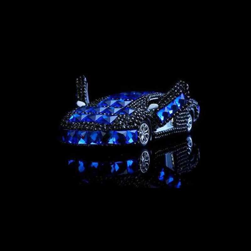 Lamborghini Sports Car Model Perfume Seat Crystal Car Perfume Essential Oil Ornaments Car Decoration Refreshment Ornaments
