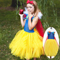 2017 New Princess Girls Dresses Children Halloween and Christmas Snow White Cosplay Fancy Dresses Kids Vestido Tutu Gown Infant