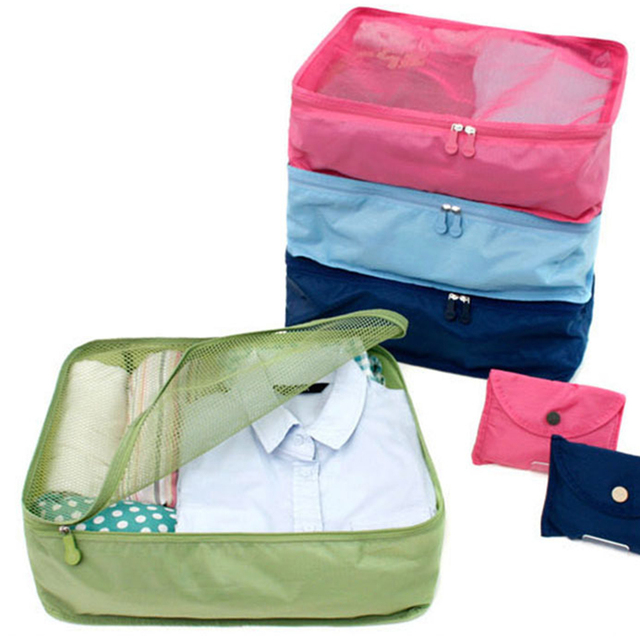 2017 New Portable Nylon Mesh Underwear Pouch Bag Organizer Travel Storage  Box Bags