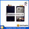100% Original Touch Screen Replacement Digitizer With Frame For NOKIA Lumia 820 N820 LCD Display Cover + Tools Drop Ship One pcs