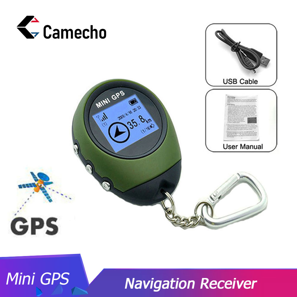 Camecho Locator Finder-Navigation-Receiver Gps-Tracker Handheld Mini Rechargeable Outdoor
