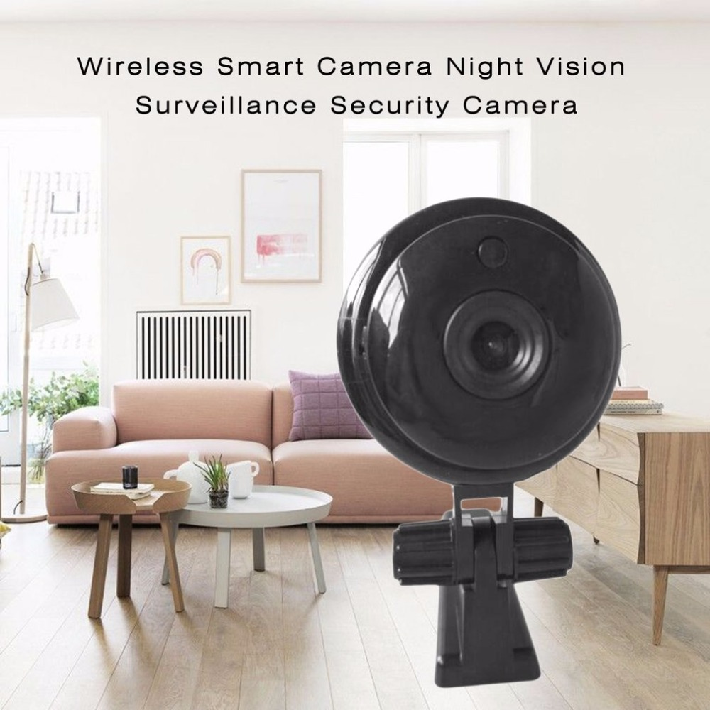 Wireless IP Camera 1.3MP 960P Night Vision Smart Home Security IP Camera Onvif Monitor 105 Degree Viewing Angle Baby Monitor