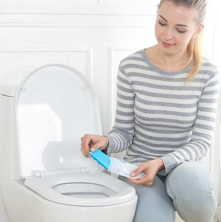 Pocket Size Travel Disposable Hygienic Toilet Seat Cover