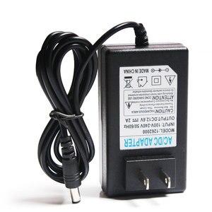 Image 3 - 12,6 v 2A Batterie Ladegerät DC 5,5*2,1 & 2,5mm EU/US/UK Stecker 110  220 v 3*18650 Lithium Ladegerät Power Adapter Für 12 v Lithium Batterie