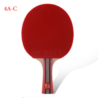 Sporting Goods Genuine Double Fish Four Star Horizontal Racket Table Tennis Racket Seven Bottom Board Ping