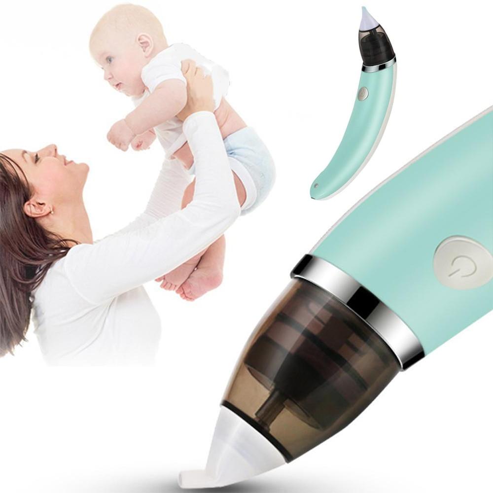 יילוד תינוק Aspirator האף ילד בנות בטיחות ואקום יניקה חשמלי האף מנקה infantil האף עד Aspirador באף תינוק טיפול