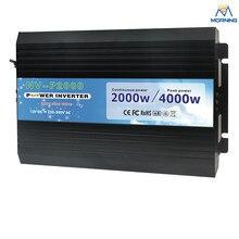 P2000-121 12 В 110 В off сетка чистая синусоида 2000 Вт инвертор силы автомобиля без зарядного устройства